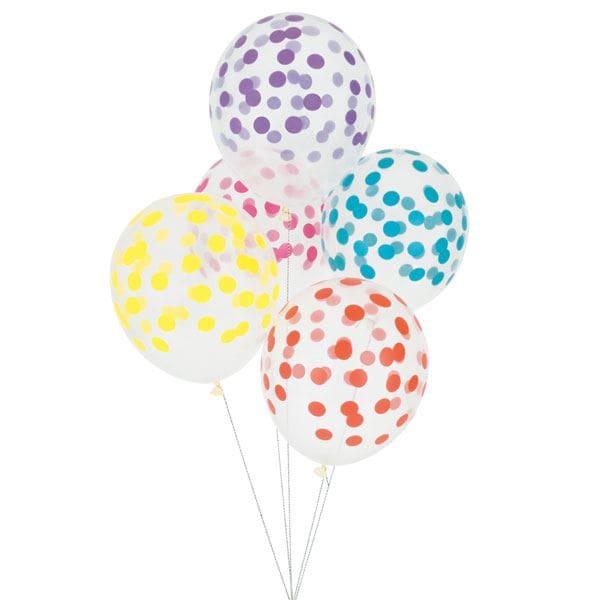 Globo confeti con helio